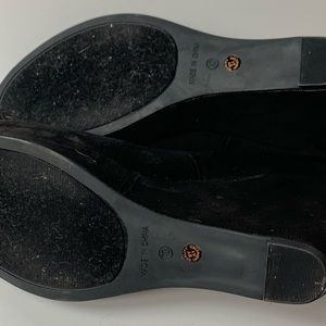 a.n.a Shoes - EUC A.N.A Black sueade Pump Wedge Size 10